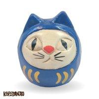 だるま猫 青頭巾白猫