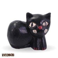 Sitting Cat BLACK -S