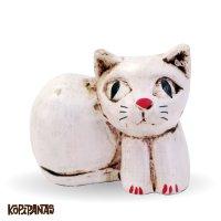 Sitting Cat WHITE -S