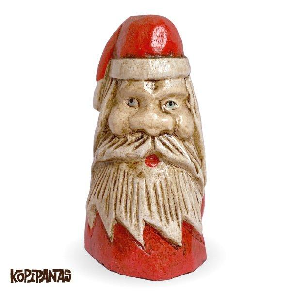 画像1: Antique Big Face Santa