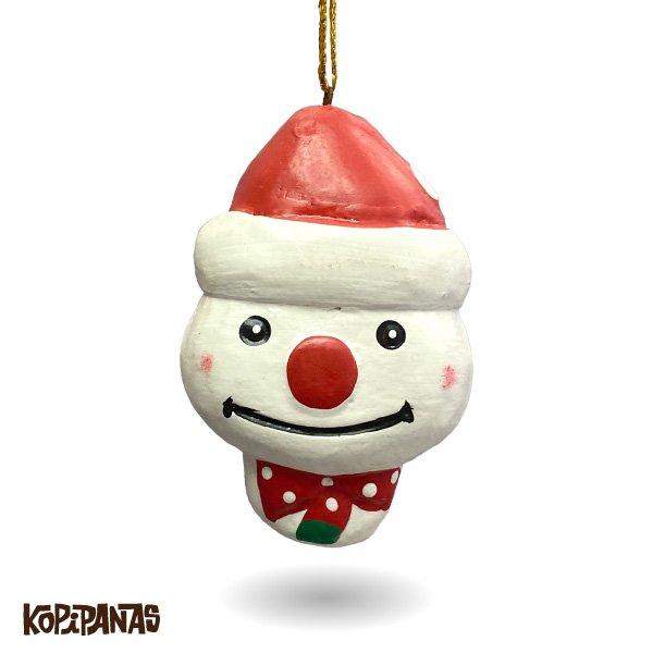 画像1: Xmas Snowman RED