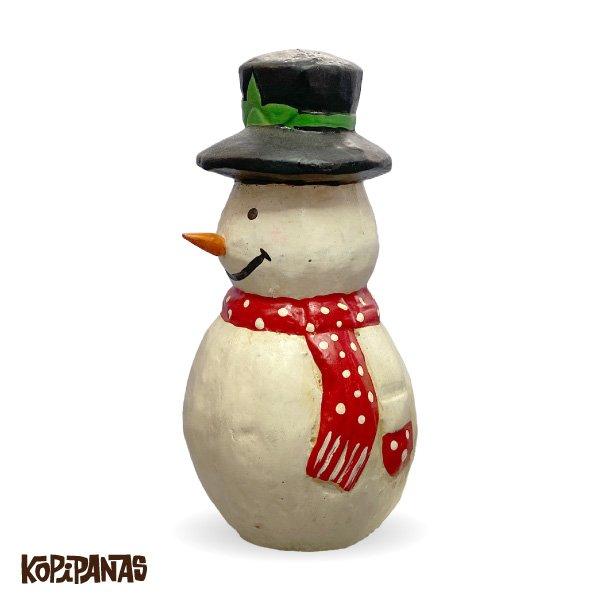 画像2: Black Hat Snowman RED Muffler