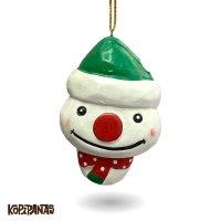 Xmas Snowman GREEN