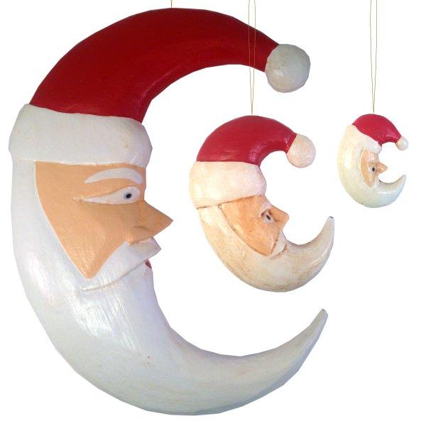 画像1: Moon Face Santa